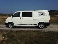 Vw transporter t4 2.5 2003 twin sliding doors
