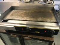 Commercial griddle grill contact grill hot plate catering restaurant cafe bakery equipments joblot