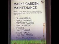 Garden Maintenance and Tidy Up Service