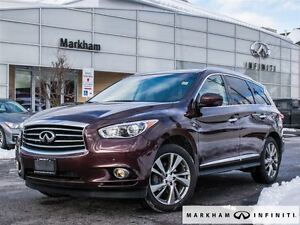 2014 Infiniti QX60 AWD|Theatre|Deluxe Touring|Top of the line