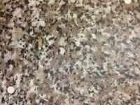 Beige Granite 3 mtr Laminate Kitchen Worktop - Brand New