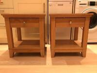 2 IKEA bedside cabinets. EXCELLENT CONDITION. IKEA RRP £140