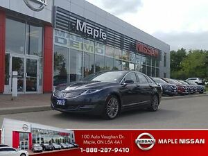 2013 Lincoln MKZ Awd-Leather,Navi,Sun Roof,Park Assist!