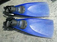 SEAQUEST Kevlar Scuba Fins Size medium