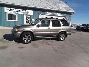 2004 Nissan Pathfinder LE,4X4,LEATHER,WELL OILED USA TRUCK!!
