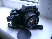 PRAKTICA BX20 35mm Film SLR Camera, PENTACON 50mm F/1.8 MC Lens