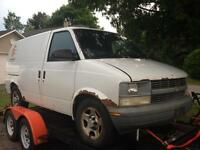2004 Chevy astro contractor van