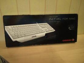 Initial for Macbook Keyboard -White - Unused