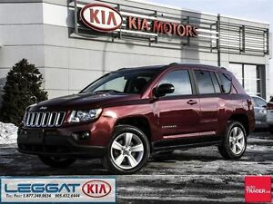 2012 Jeep Compass North - No Accident, Alloy Rims, AUX, Fog Ligh