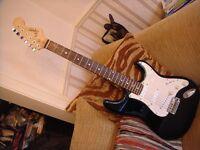 Fender Squier Stratocaster electric guitar superb older Squier very heavy