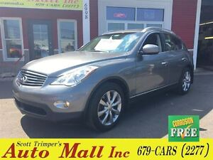 2013 Infiniti EX37 AWD/Sunroof/Leather & low KMS!