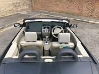 SUPER CONVERTIBLE RENAULT MEGANE KARMANN 1.9 CDI, AUTOMATIC, VERY RARE MODEL, EXCELLENT COND