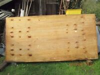 """8' x 4' x 1"""" spruce plywood sheets x 10"""