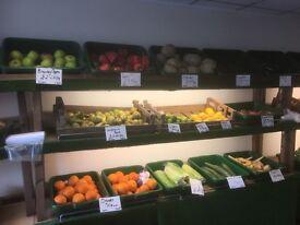 Fruit and veg trays