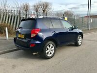 For sale reliable Toyota RAV4,Mot March 2019,drives great,nice looking SUV,FSH,roof rails,£3450,NG7