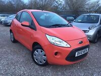 Ford KA 1.2 Style 3dr, 1 YEAR MOT. 1 FORMER KEEPER. GENUINE LOW MILEAGE. HPI CLEAR. P/X WELCOME