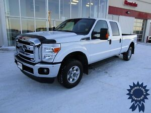 2015 Ford Super Duty F-350 SRW XLT, 43,829 KMs, 6.2L V8 Gas