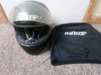 KBC Black Motorbike Helmet W/KBC Carry Case