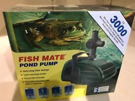 Fish mate 3000 pond pump