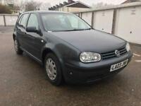 VOLKSWAGEN GOLF SE 2003 / 1.6 PETROL / 71000 MILES / MANUAL / JULY 2018 MOT / EXCELLENT CAR £895