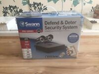 Swann 4 Channel Security System 960H 4 Channel Digital Recorder with 2 Cameras