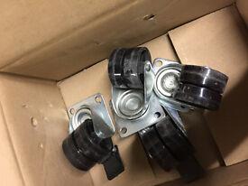 Set of 4 wheels