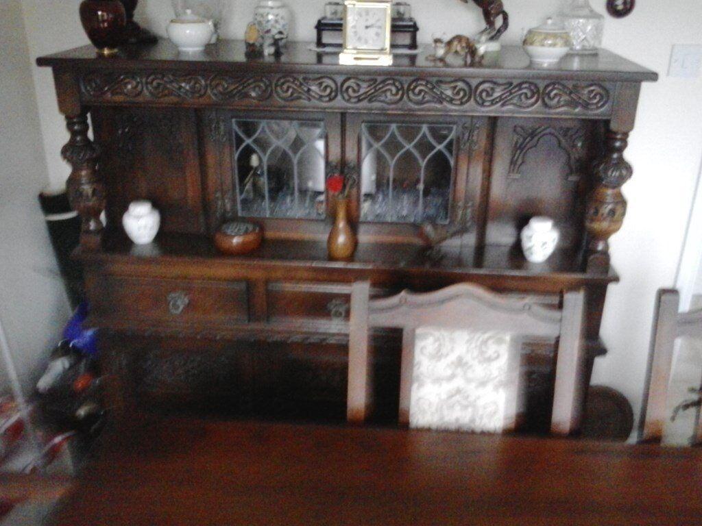 Old Charm Tudor Dining Room Lounge Dresser