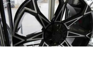 22 INCH OFF ROAD RIMS GM & FORD 6 BOLT LIFTED TRUCKS - CHEAP WHEEL SALE - RIM SALE