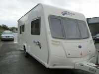 BAILEY PAGEANT SERIES 6 MONARCH YEAR 2007 TWO BERTH TOURING CARAVAN EXCELLENT CONDITION! ONE OWNER!!