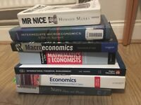 SOLD Free economist and maths books (study, university)