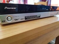 Pioneer DVD recorder with harddrive