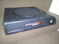 Optisound Auto 8 Active Underseat Subwoofer Enclosure