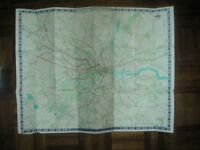 Old London Transport Map - dated 1968