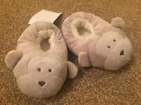BNWT monkey slippers The White Company