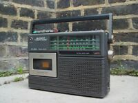 FREE DELIVERY Vintage Sony Cassette Corder CF 210L Retro Portable Radio
