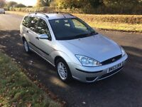 FORD FOCUS 1.6 LX ESTATE NEW MOT SUPERB CONDITION !!!