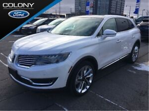 2017 Lincoln MKX TECH, DRIVER, TOURING & LUXURY PKG's!