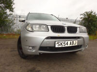 54 BMW X3 SPORT 4X4 2.5 MANUEL,MOT SEPT 018,2 OWNERS,FULL SERVICE HISTORY,2 KEYS,STUNNING EXAMPLE