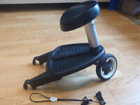 Bugaboo Wheeled Buggy Board and Twoo Seat
