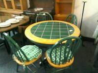 Kitchen table and 4 Chairs #31531 £50