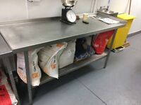 Stainless Steel Table Catering Equipment, Bakery/Sandwich shop