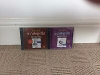 2 Diary of a Wimpy Kid audio books - The Third Wheel and The Ugly Truth - £5