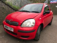 Toyota Yaris 2004 1.0 Petrol Red 3dr - breaking for spares - wheel nut