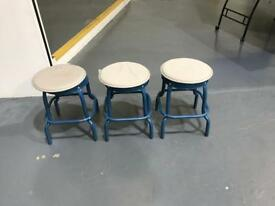 Set of 6 stools Ikea Raskog complete with matt