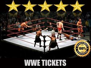 Discounted WWE Tickets | Last Minute Delivery Guaranteed!