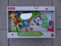 FISHER PRICE RAINFOREST DELUXE STROLLER ACTIVITY CENTRE ARCH.