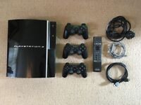 Playstation 3 (300GB) + 3 Controllers + 12 Games
