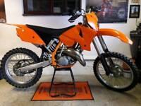 * KTM SX125 SX 125 TIDY EXAMPLE MOTOCROSS 250 450 85 RM CR YZ KX TM MX *