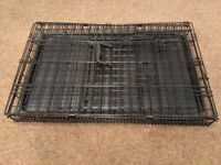 FREE Medium Dog crate kennel, foldable, collapsible