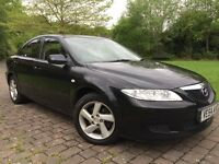 2005 Mazda 6 2.0 TS2 5dr Low miles 12 Months mot Bose speakers 6 cd changer Sunroof